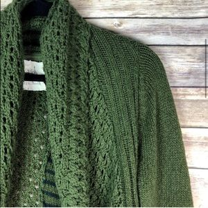 Angel of the North Knit Circle Cardigan Sweater